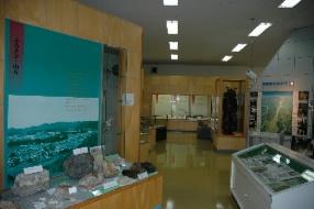 館内写真 火打ち石の採掘