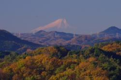 小瀬富士・小舟富士ハイキングコースからの眺め1