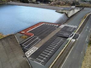 御前山ダム駐車場