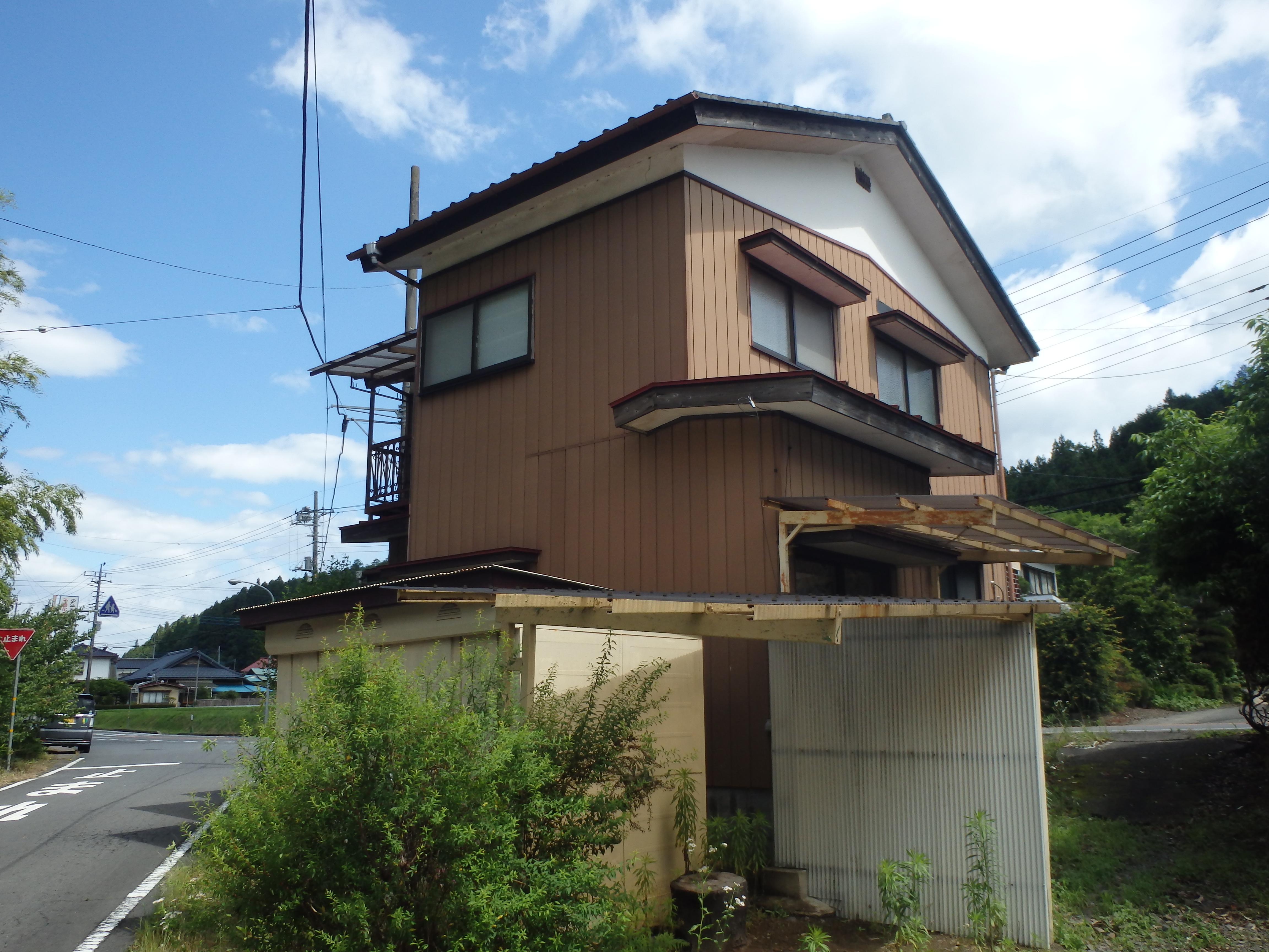 鷲子空き家
