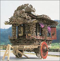 花輪組の屋台