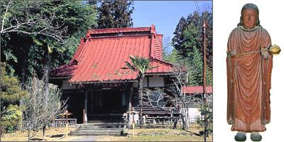 寿命寺の聖徳太子立像
