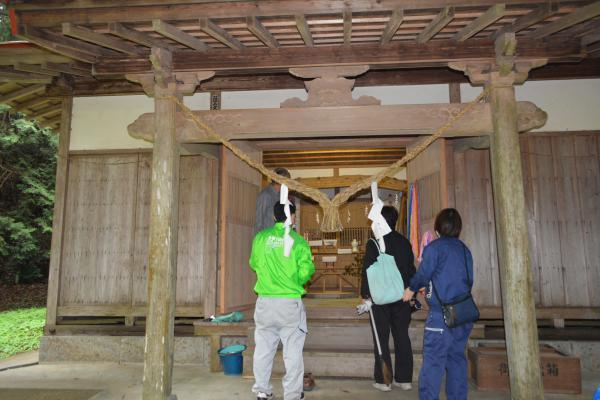 鹿嶋神社調査
