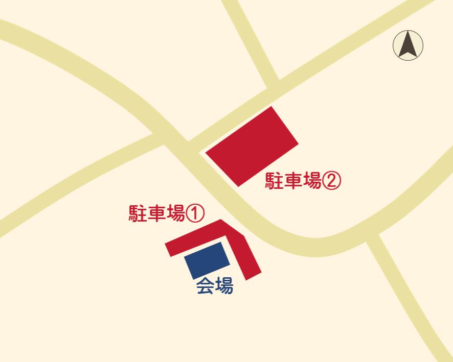WS駐車場案内図