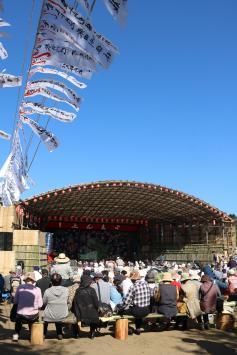 写真:西塩子の回り舞台定期公演が開催されました