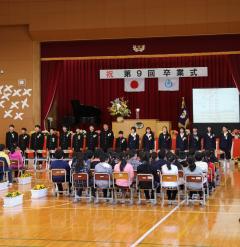 『市内小学校で卒業式が行われました』の写真