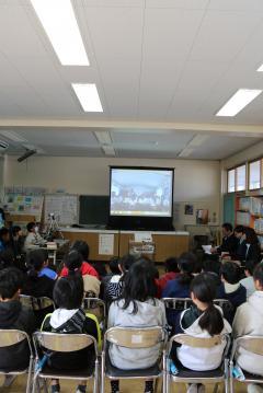 『大宮西小学校とパラオ共和国ペリリュー小学校の児童の交流事業が行われました』の写真